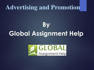 Sample PPT on Advertising and Promotion