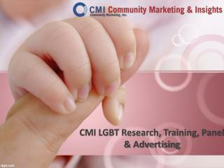 CMI LGBT Research, Training, Panel & Advertising
