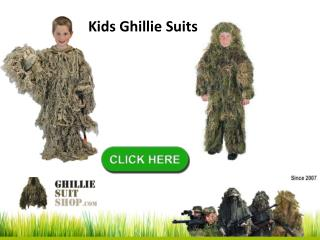 Kids Ghillie Suits