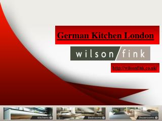 German Kitchens Company London by Wilson Fink