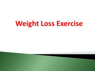 5 Fast Weight Loss Exercises