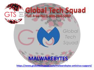 Desktop Support for Malwarebytes Antivirus | Toll Free:1-800-294-5907
