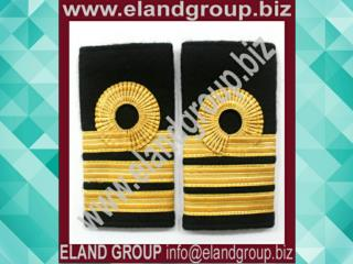 Navy Ranks Slide Commander Gold Lace Ranks Slide