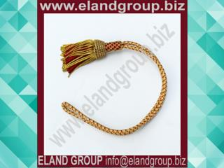Officer Sword Knot Gold & Red Sword knot