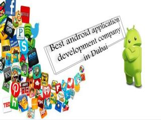 Best Android Development Company in Dubai