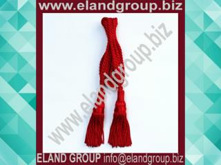 Scottish Bagpipes Silk Drone Cord Red Color