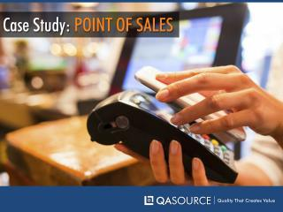 Case Study - Points of Sales