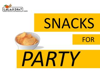 Confectionery Snacks for Party at Home