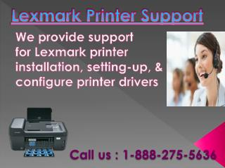Lexmark Printer Customer Support Phone Number