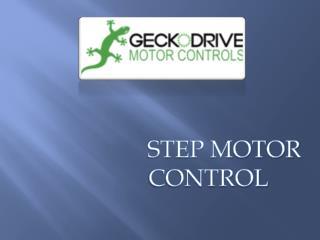 Step Motor Controls