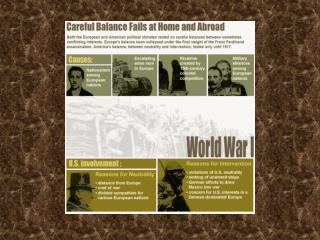 The Great War: World War I The War to End All Wars