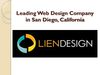 Lien Design -Leading Web Design Company in San Diego, California
