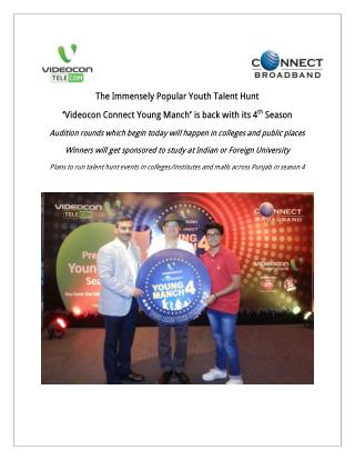 Videocon Connect Young Manch Season 4