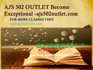 AJS 502 OUTLET Become Exceptional-ajs502outlet.com