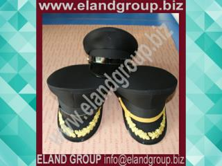 Military Officer Uniform Peak Cap