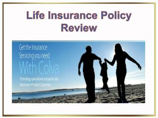 Life Insurance Policy Review�
