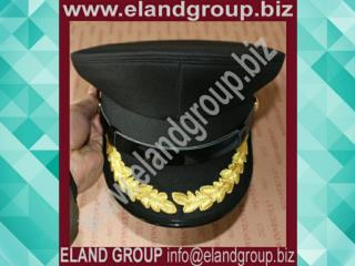 Officer peak cap