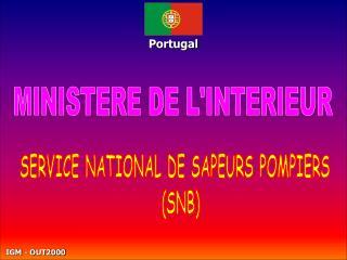 MINISTERE DE LINTERIEUR