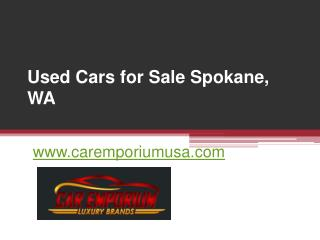 Used Cars for Sale Spokane - www.caremporiumusa.com