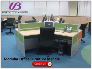 Modular Office Furniture in India