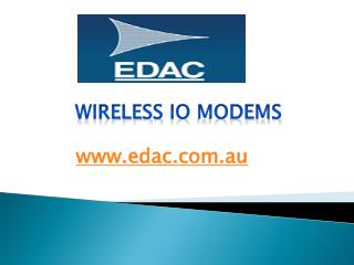 Wireless io Modems - edac.com.au