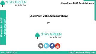 SharePoint 2013 Administration Introduction Training