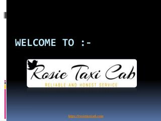 Best taxi service in oxnard-Rositaxicab