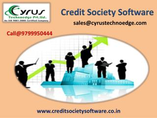 Get Credit Society Software ( Finsuperb V 4.0)