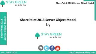 SharePoint 2013 Developer Training