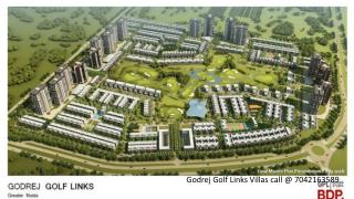 Godraj Golf Links Villas Luxury Properties Homes