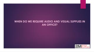audio and visual supplies Dallas TX