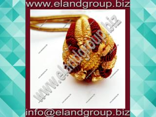 Gold & Burgundy Sword Knot