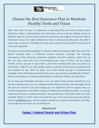 Small Business Vision insurance in California