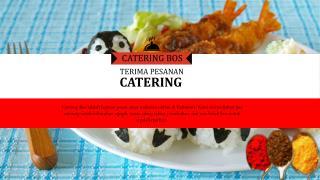 Pesan Nasi Bento Murah Surabaya &  Gresik