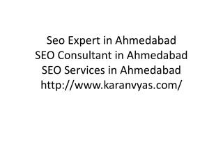 SEO Consultant in Ahmedabad
