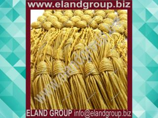 Military Gold Bullion Key Tassels