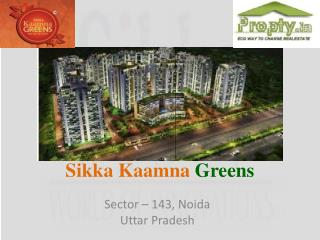 Sikka Kaamna Green – 1/2/3 BHK Dream Home for Common Man @92
