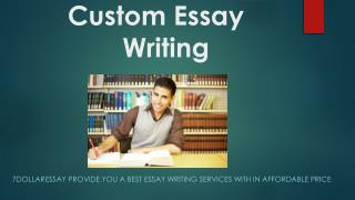 The best Custom Essay Writing Services