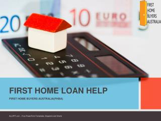 FHBA First Home Loan Help