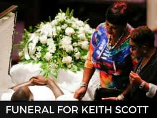 Funeral for Keith Scott