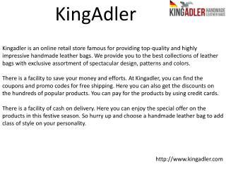 King Adler