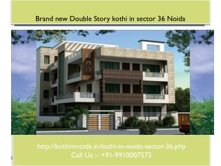 kothi for sale in noida sector 36, builder kothi in noida, Duplex kothi