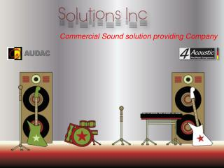 Solution inc mix series@audac speakers