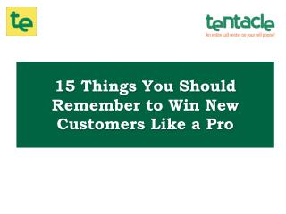 15 Simple Ways to Win New Customers for your Small Business