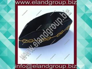 Master Mason Hat (Cap) with Mylar Wire Chain