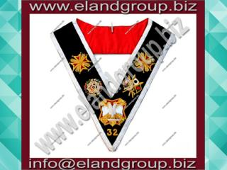 Rose Croix 32nd Degree Collar