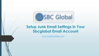 Setup sbcglobal junk email settings call @ 1 855-856-2653