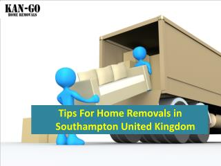 Vital Things to Consider about Home Removals in Southampton