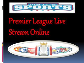 Premier League Live Stream Online