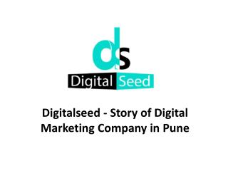 Digitalseed - Story of Digital Marketing Company in Pune
